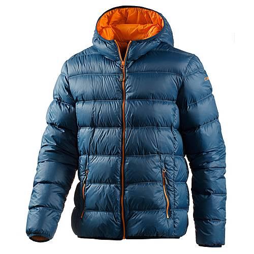 cmp daunenjacke herren blau orange im online shop von sportscheck kaufen. Black Bedroom Furniture Sets. Home Design Ideas