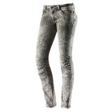 Neighborhood Skinny Fit Jeans Damen grau