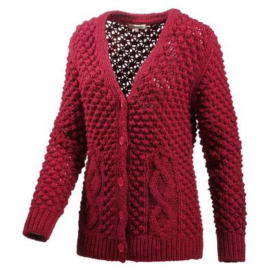 LTB Strickjacke Damen rot