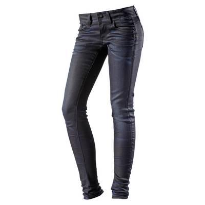 G-Star Skinny Fit Jeans Damen dark denim/black