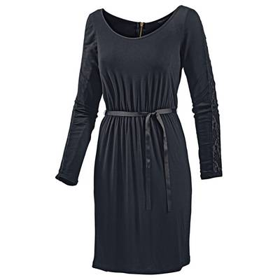 Neighborhood Jerseykleid Damen schwarz
