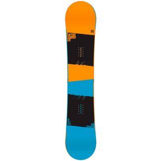 Nitro Snowboards Stance All-Mountain Board orange/schwarz/blau
