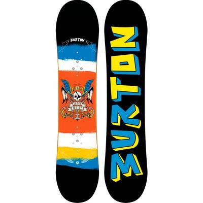 Burton Shaun Wihte Small All-Mountain Board Kinder bunt