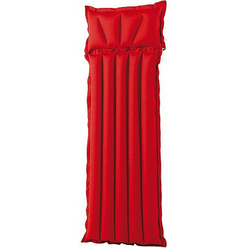 royalbeach Gewebematte Uni Luftmatratze rot