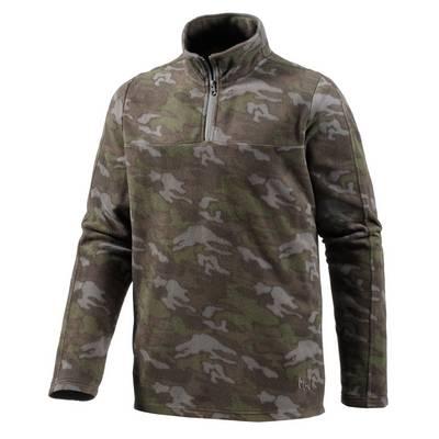 Maui Wowie Fleecepullover Herren oliv-camouflage