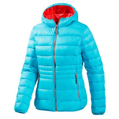 CMP Daunenjacke Damen hellblau/orange