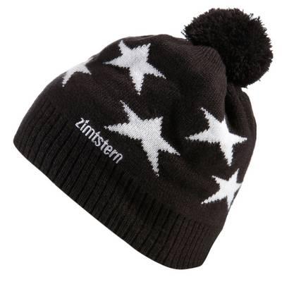 Zimtstern Star15 Beanie schwarz/weiß