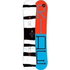 Ride Snowboards Control All-Mountain Board Herren schwarz/weiß