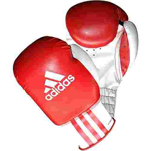 adidas Rookie Boxhandschuhe rot/weiß