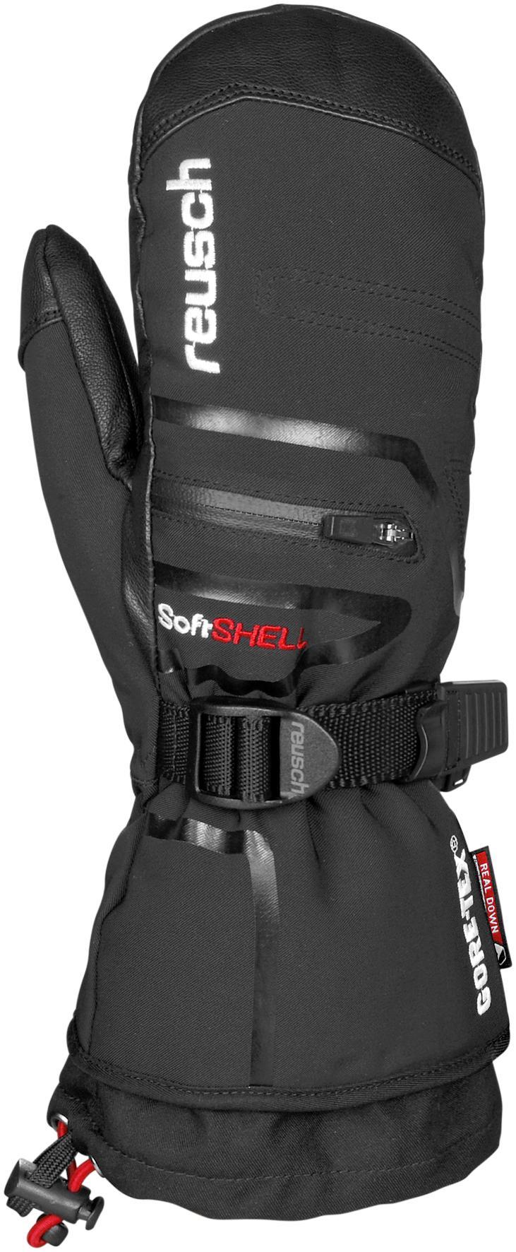 Reusch Down Spirit GTX Mitten Skihandschuhe schwarz
