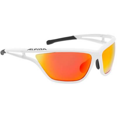 ALPINA Eye-5 CM+ Sportbrille weiß/schwarz