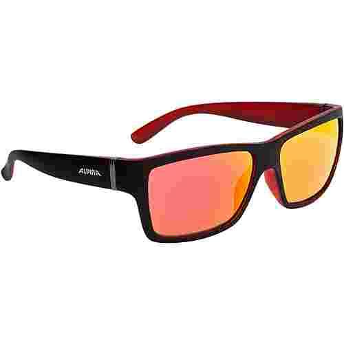 ALPINA Kacey Sonnenbrille schwarz/rot