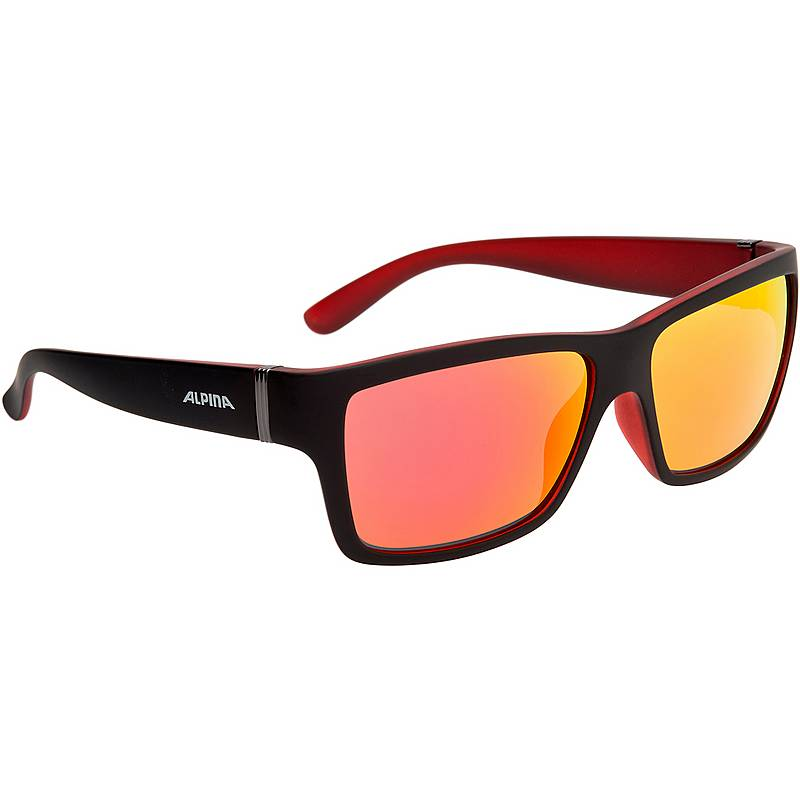 Alpina Kacey Sonnenbrille Schwarz/Rot GtS2xlsTh