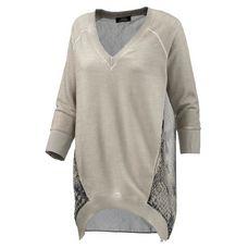 VSCT Longshirt Damen hellgrau
