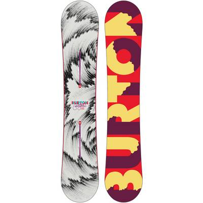 Burton Fellgood Flying V All-Mountain Board Damen weiß/grau