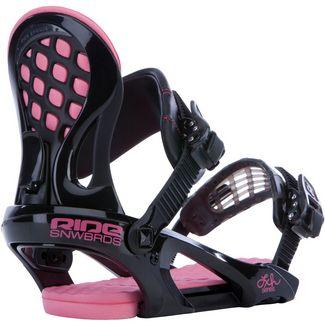 Ride Snowboards LXH Snowboardbindung Damen schwarz/pink