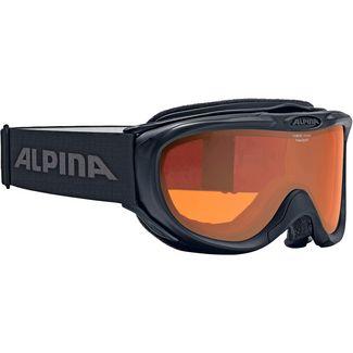 ALPINA Freespirit Skibrille schwarz-orange