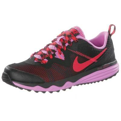 Nike Dual Fusion Trail Laufschuhe Damen schwarz/flieder