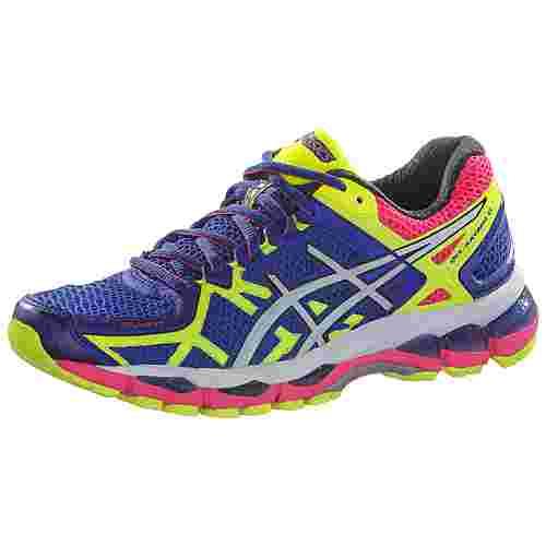 ASICS GEL KAYANO 21 Laufschuhe Damen blau/neongelb/pink im Online Shop von  SportScheck kaufen