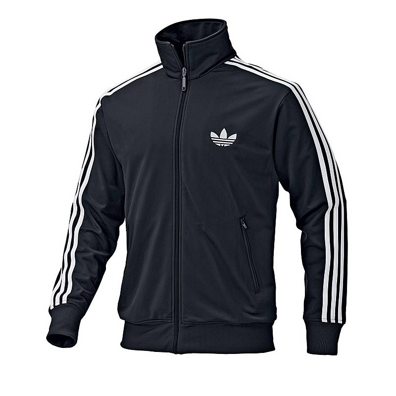 Adidas Firebird Trainingsjacke Herren schwarz weiß im Online Shop ... 7476503aca
