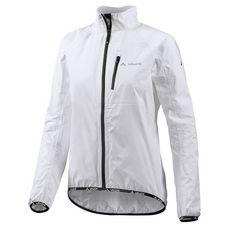 VAUDE Drop III Fahrradjacke Damen weiß