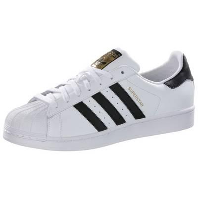 adidas Superstar Sneaker Damen weiß/schwarz