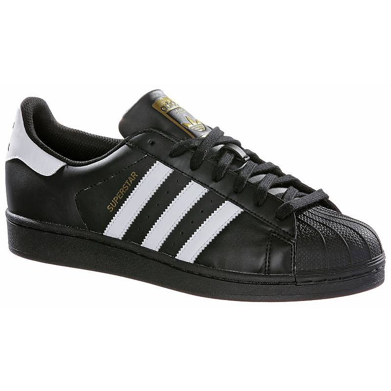 damen adidas superstars schwarz