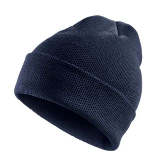 MasterDis Basic Flap Long Beanie navy
