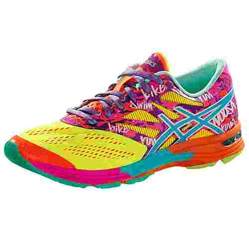 ASICS GEL NOOSA TRI 10 Laufschuhe Damen neongelb/bunt im Online Shop von SportScheck kaufen
