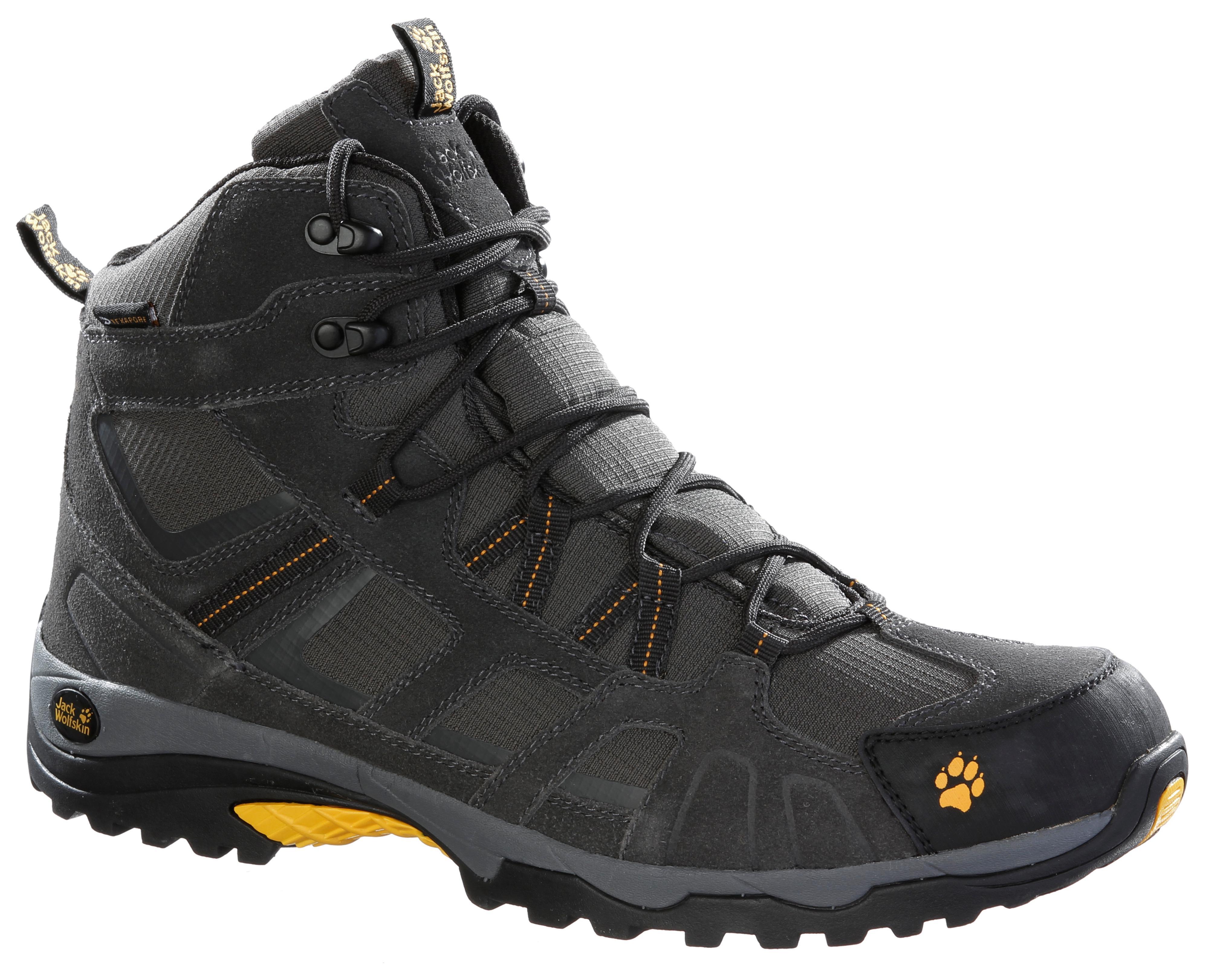 Keen Wanderer Mid Waterproof Braun-Schwarz, Damen Hiking- & Approach-Schuh, Größe EU 38 - Farbe Raven-Bright Chartreuse Damen Hiking- & Approach-Schuh, Raven - Bright Chartreuse, Größe 38 - Braun-Schw