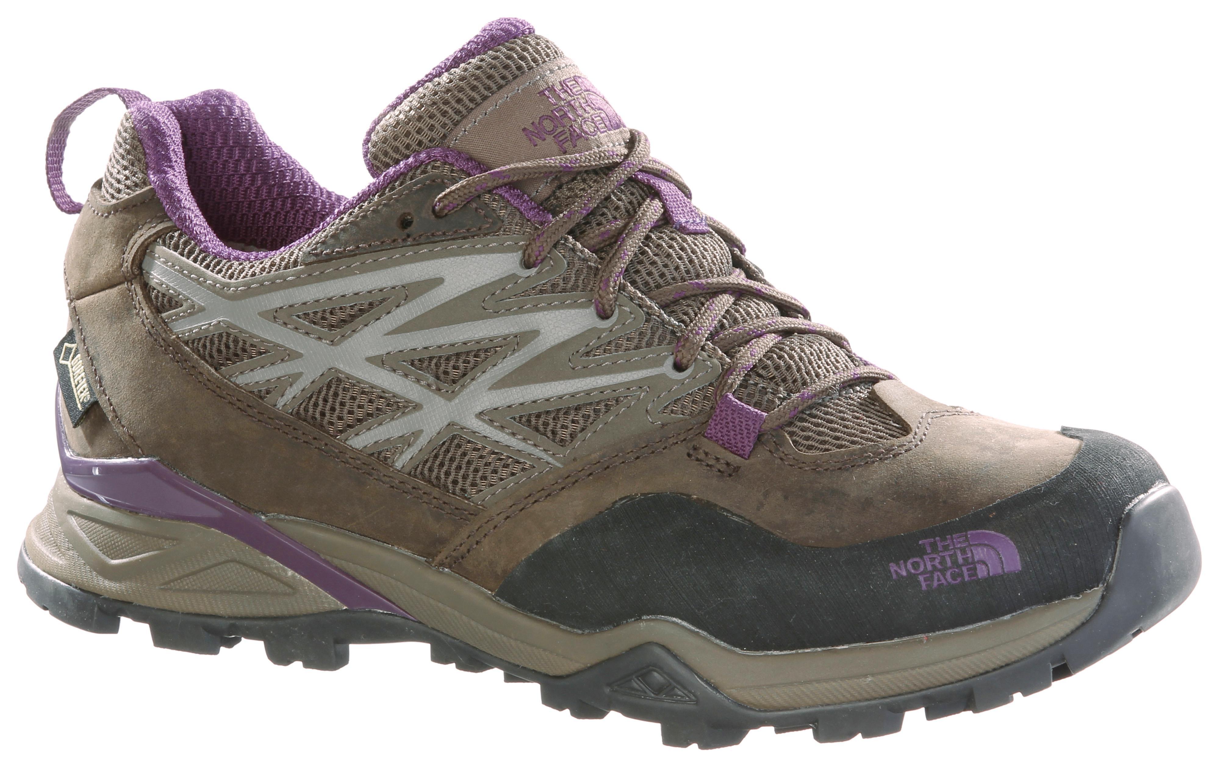 The North Face Hedgehog Hike GTX Woherren Wanderschuhe Damen braun lila im Online Shop von SportScheck kaufen Gute Qualität beliebte Schuhe