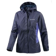 Columbia Pouring Adventure Regenjacke Damen lila
