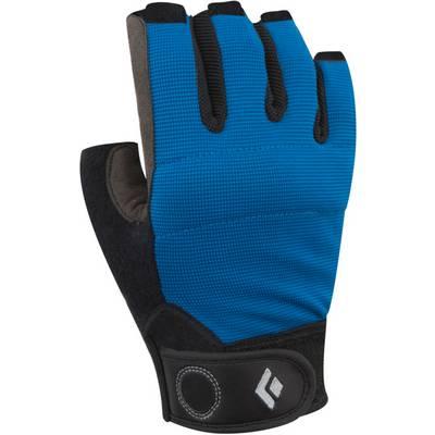 Black Diamond Crag Half-Finger Fingerhandschuhe Herren blau