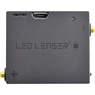 Led Lenser Lithium Ion rechargeable battery 3,7V Batterie schwarz