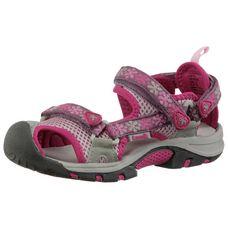 Kamik Jetty Outdoorsandalen Kinder pink/hellgrau