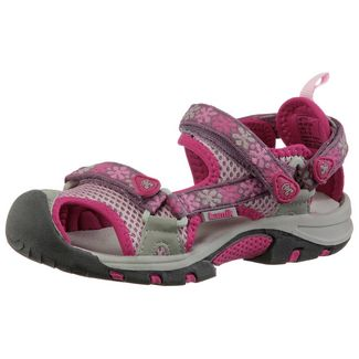 Kamik Jetty Outdoorsandalen Kinder pink/hellgrau