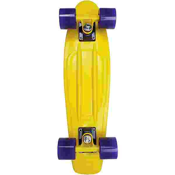 "AREA Candyboard 22,5"" Skateboard-Komplettset gelb-blau"