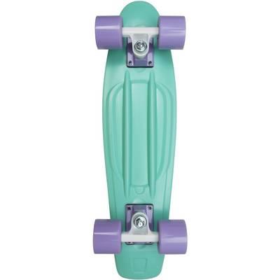 """AREA Candyboard 22,5"""" Skateboard-Komplettset mint/lila"""