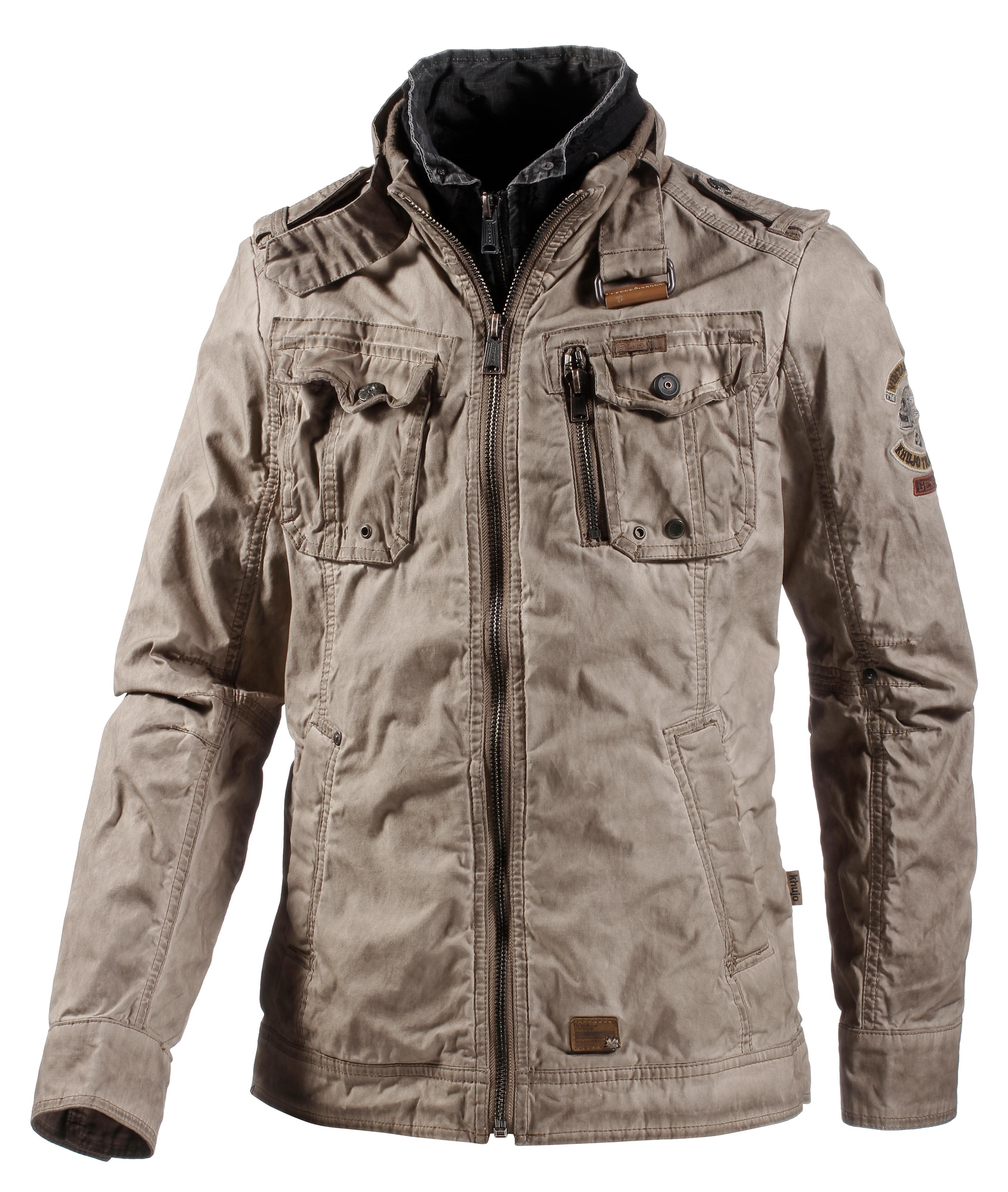 Khujo herren jacke uniform