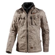Khujo Uniform Jacke Herren hellbraun