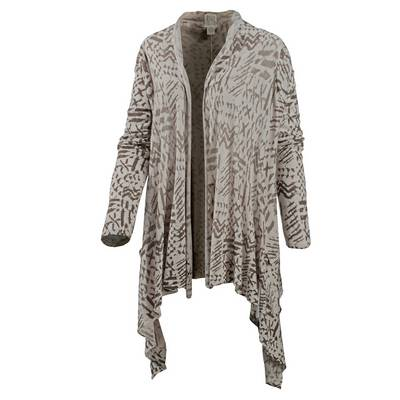 Billabong Seaside Dreamz Strickjacke Damen grau/schwarz