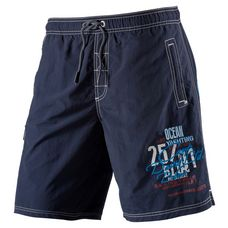 CAMP DAVID Badeshorts Herren blau