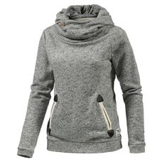 iriedaily Turtle Space Sweatshirt Damen grau