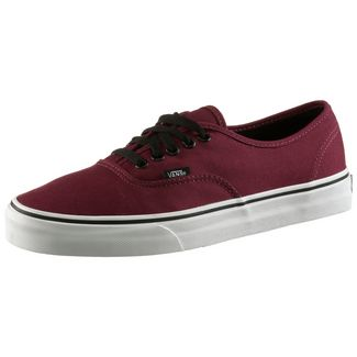 Vans Authentic Sneaker dunkelrot