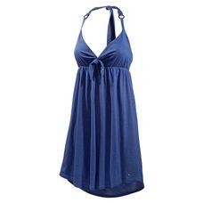 Maui Wowie Oily Bandeaukleid Damen blau