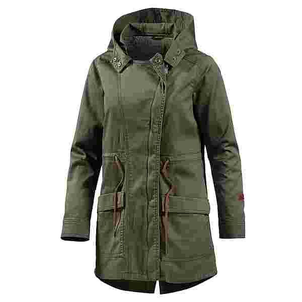 Roxy Cover You Jacket Kapuzenjacke Damen oliv