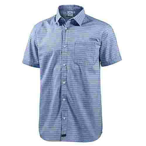 WLD New morning Kurzarmhemd Herren blau/streifen