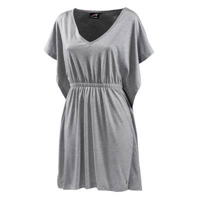 Maui Wowie Kleid Jerseykleid Damen hellgrau melange