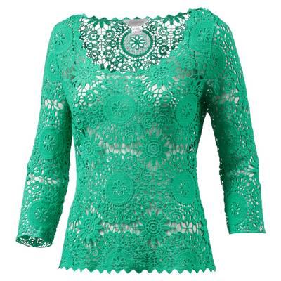 LingaDore Langarmshirt Damen grün