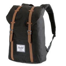 Herschel Retreat Daypack schwarz
